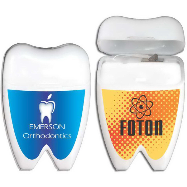 Personalized Tooth Shaped Dental Floss