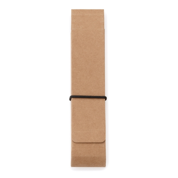 Personalized Natural cardboard case for pens