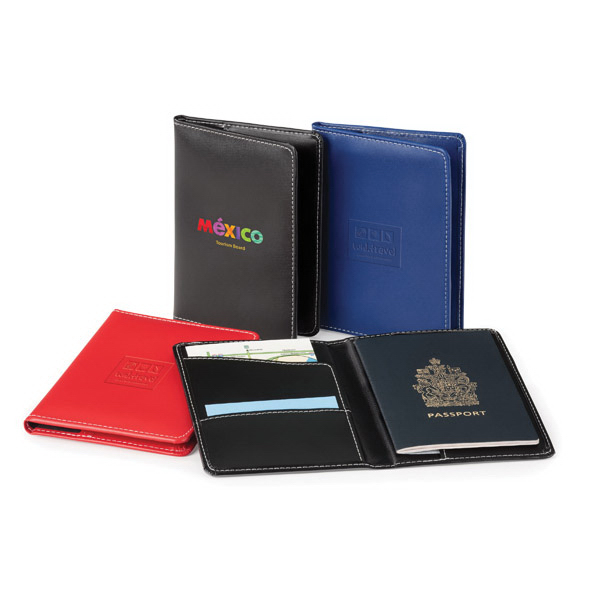Personalized Bradford Passport Holder
