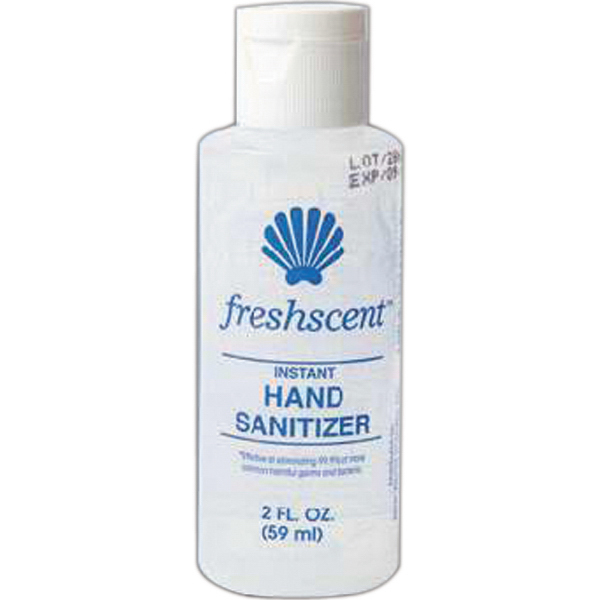 Customized Hand sanitizer Freshscent, 2.0 oz