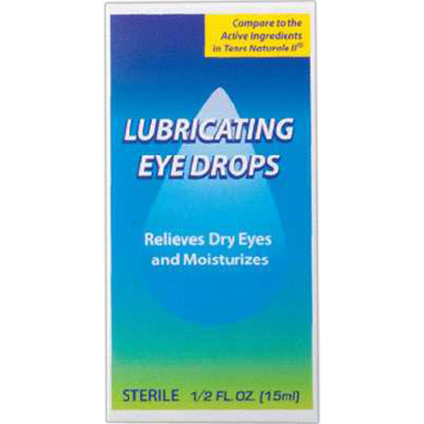 Promotional Eye drops Artificial tears, 0.5 oz