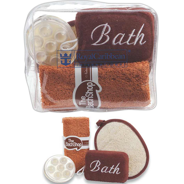 Imprinted Earth spa kit