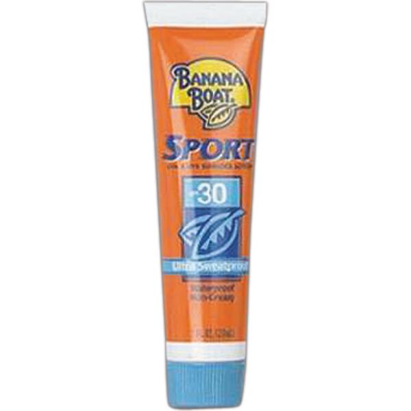 Personalized Sunscreen, Banana Boat tube (SPF-30, 1.0 oz)