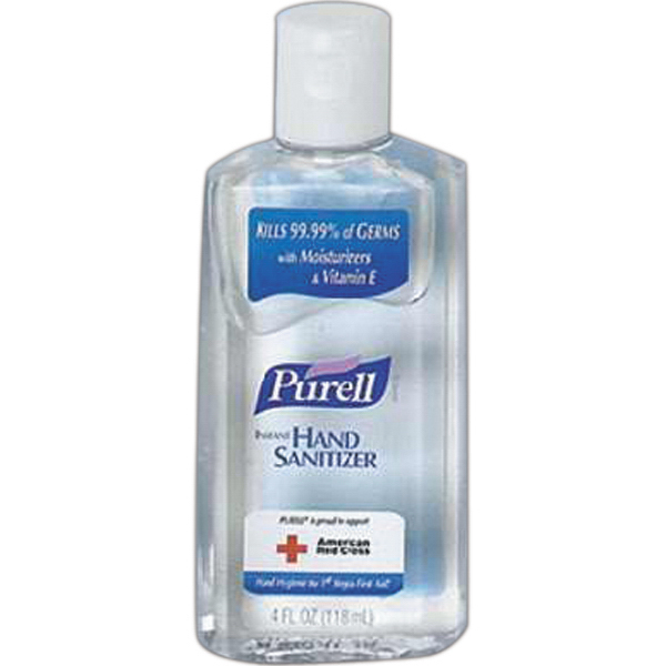 Personalized Hand sanitizer, Purell bottle (4.0 oz)