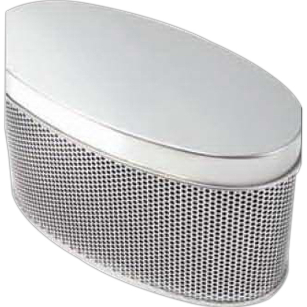 Promotional Oval Mesh Gift Tin
