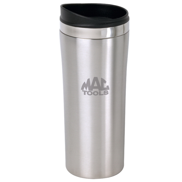 Custom 12 oz Slimline Stainless Steel Desk Tumbler
