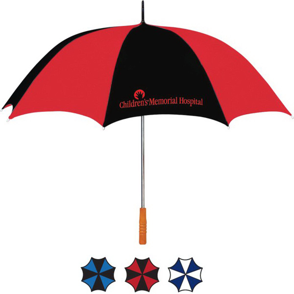 Custom Two-Tone Golf Umbrella
