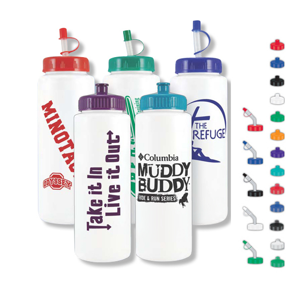 Customized 32 oz Sports Bottle