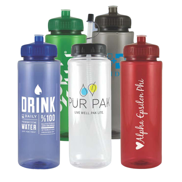 Imprinted 32 oz. HydroClean (TM) sports bottle
