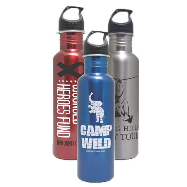 Personalized 25 oz Stainless Steel Water Bottle