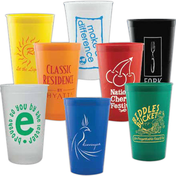 Imprinted 22 oz Classic Stadium Cup