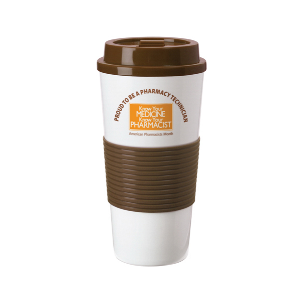 Printed Sip and Save travel mug