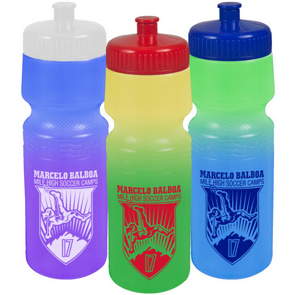 Imprinted The Screen 24 oz Cool Color Change Bottle