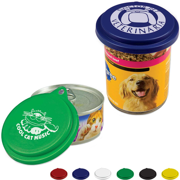 Imprinted Pet Food Can Lid
