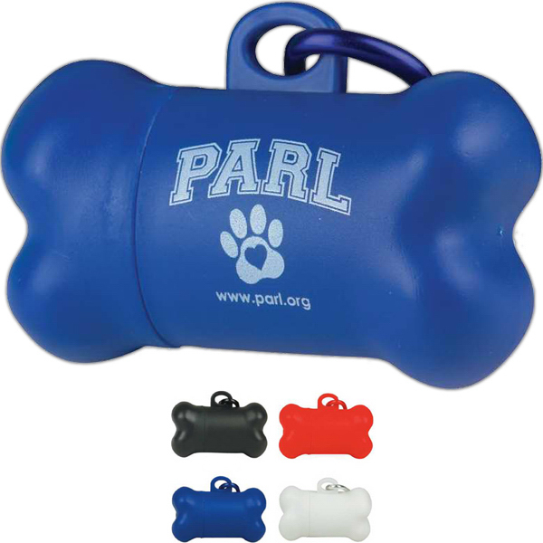 "Promotional Pickup Tote Dog ""Pickup"" Bag Dispenser"
