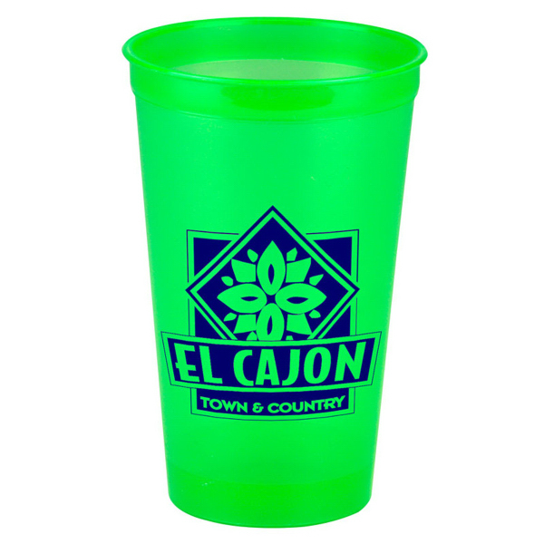 Custom 20 oz. Translucent Stadium Cup