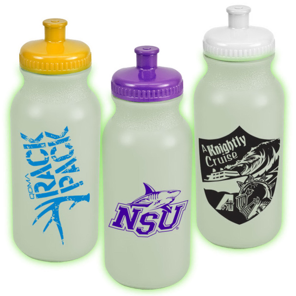 Promotional 20 oz Glow Bike Bottle