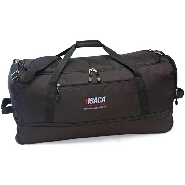 Customized Stow Away Rolling Duffel