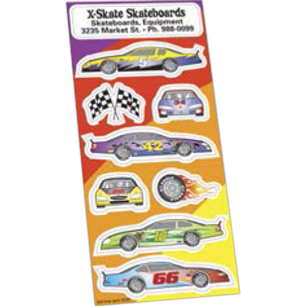 Promotional Sticker Sheet Collection