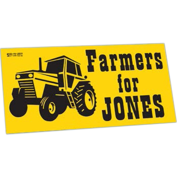 Customized One Day Bumper Sticker