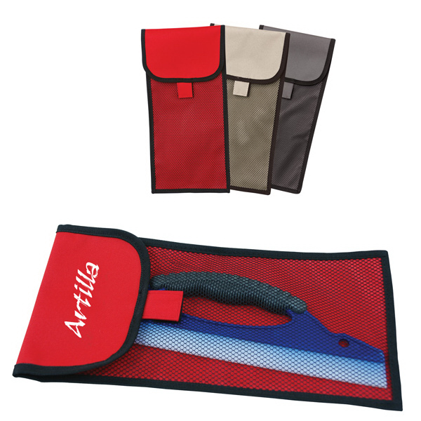 Personalized Squeegee in Mesh Bag