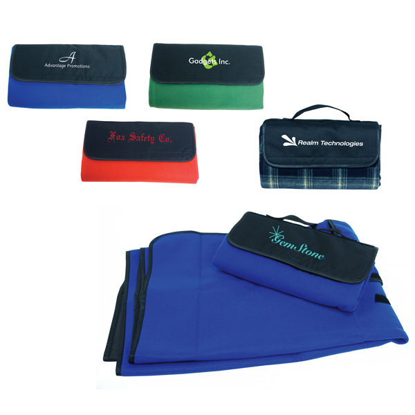 Printed Fold and Carry Utility Blanket