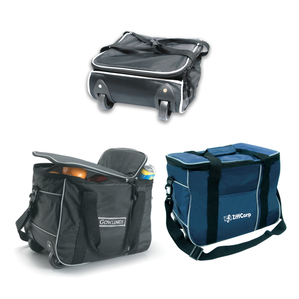 Imprinted Cooler Bag on Wheels