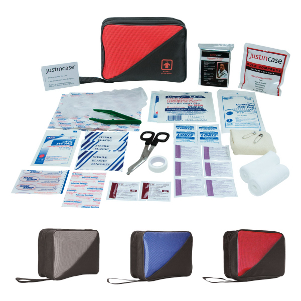 Imprinted Family First Aid Kit