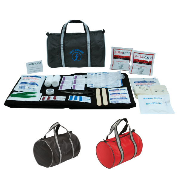 Personalized First Aid Duffle