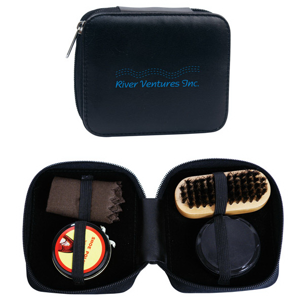 Promotional Deluxe Shoe Shine Kit