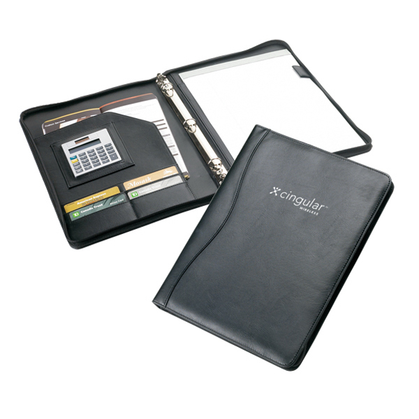 Customized 3 Ring Binder Padfolio