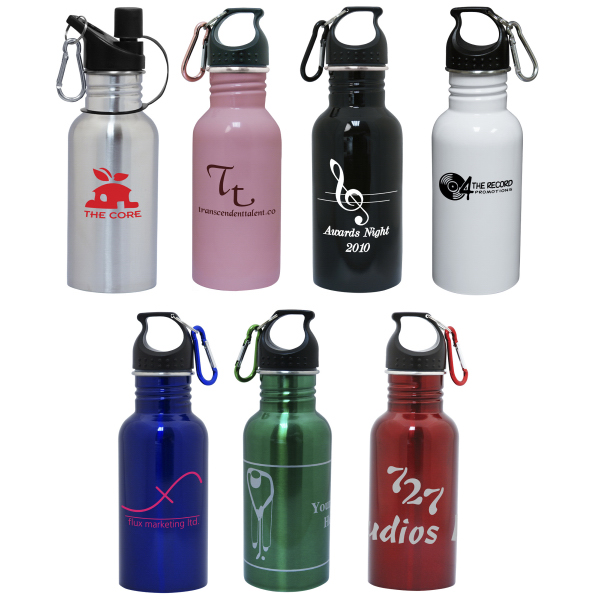 Custom 18 oz./532ml stainless steel water bottle