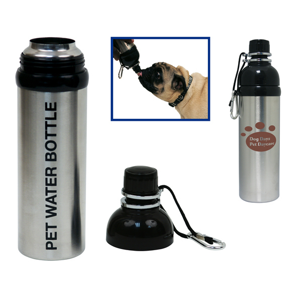 Printed 24oz. / 709ml Travel Water Bottle for Pets / Dogs