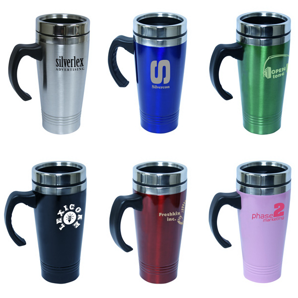 Customized 14 oz./414ml stainless steel travel mug