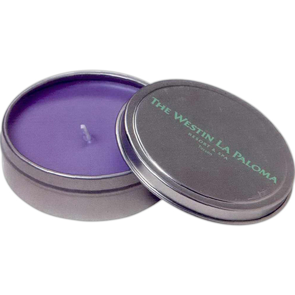 Imprinted 3 oz. Travel candle