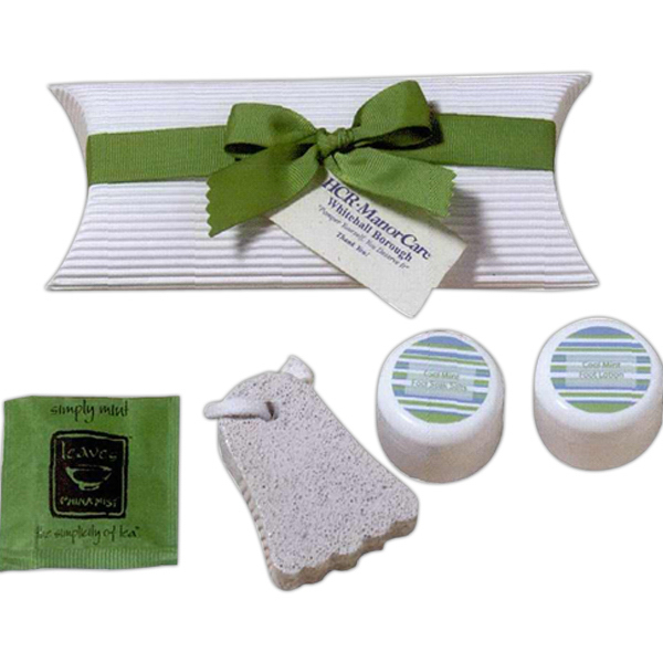 Imprinted Feet Treat Pack
