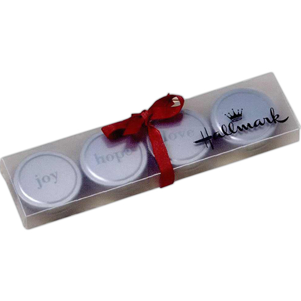 Promotional Holiday candle set