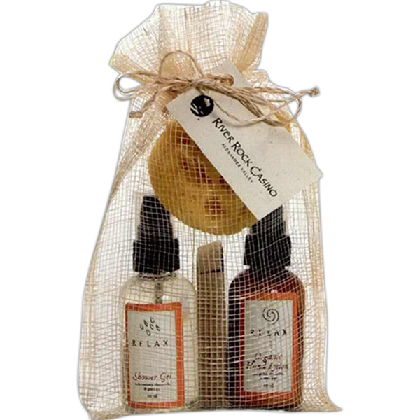 Custom Natural Spa Set