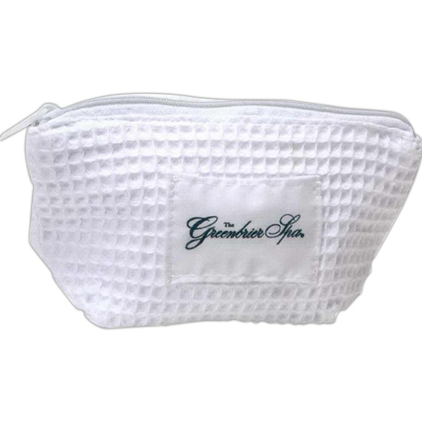 Personalized White spa cosmetic case