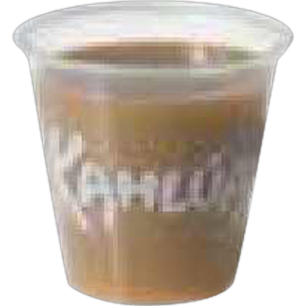 Imprinted Clear Plastic Cup - Soft Sided