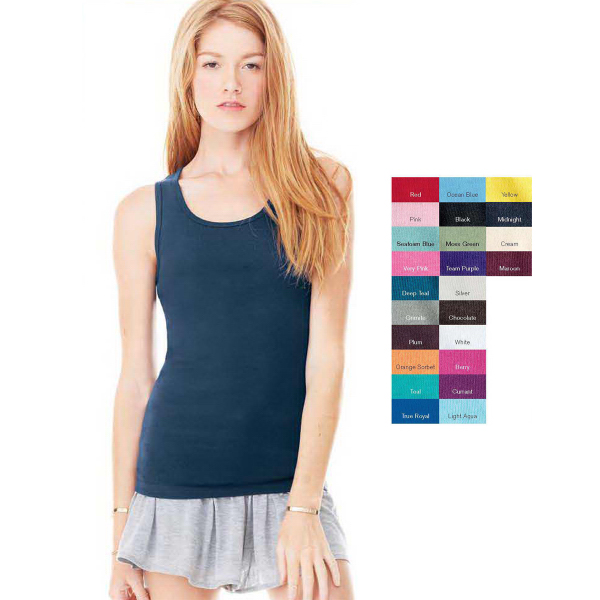 Promotional Bella Ladies' Baby Rib Tank Top T-Shirt