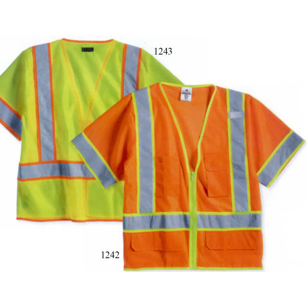 Custom ML Kishigo Ultra-Cool (TM) Mesh Surveyor's Vest