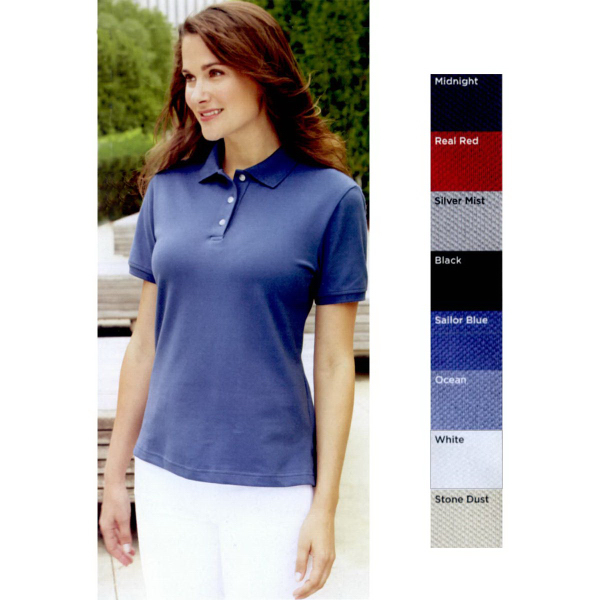 Personalized IZOD Ladies' Classic Silk-wash Pique Sport Shirt