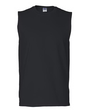 Printed Gildan (R) Ultra Cotton (TM) Sleeveless T-shirt