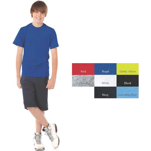 Promotional Badger Youth Cotton-Feel B-Tech T-Shirt