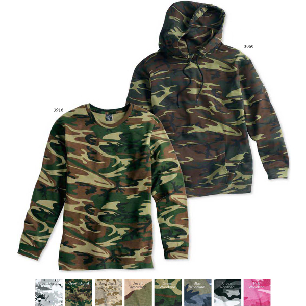 Custom Code V Camouflage Long Sleeve T-Shirt