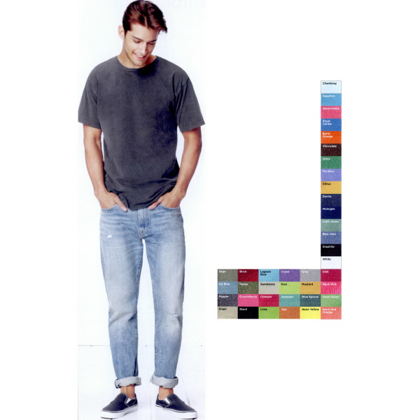 Personalized Comfort Colors Pigment Dyed Ringspun Short Sleeve T-Shirt