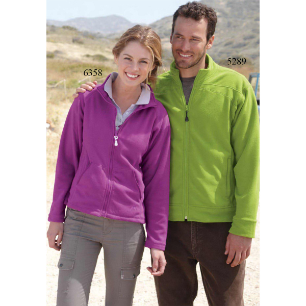 Imprinted Colorado Clothing Lightweight Microfleece Full-Zip Jacket
