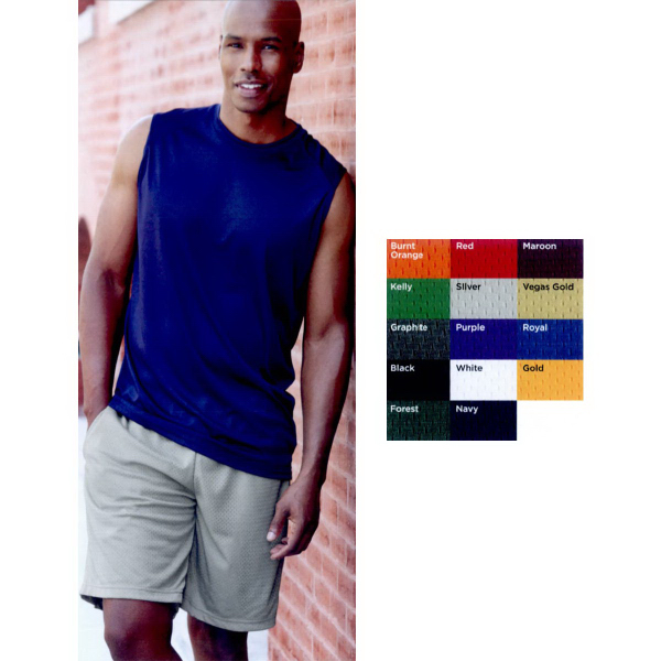 "Personalized Badger 9"" Inseam Pro Mesh Pocketed Shorts"