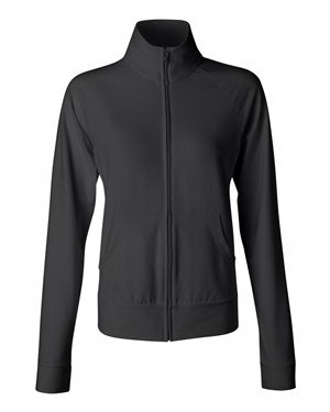 Customized Bella + Canvas Ladies' Cotton/Spandex Cadet Jacket